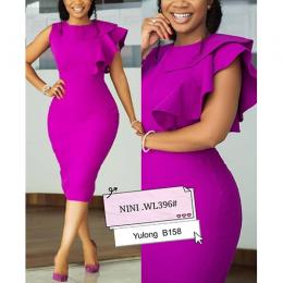 WOMEN SNAZZY CORPORATE WELL FITTED GOWN (AVAILABLE IN ALL SIZES)