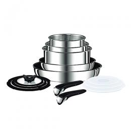 Tefal Ingenio Pots And Pans Set, Stainless Steel