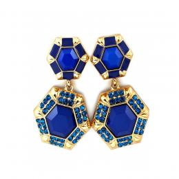 Ink Blue Earrings