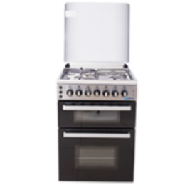 TEC COOKER STD MY DIVA 603G1E OGDC-6831 INOX|60X60| 3 GAS 1 HOTPLATE