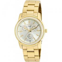INVICTA 18990 WOMEN'S ANGEL QUARTZ CHRONOGRAPH GOLD DIAL WATCH