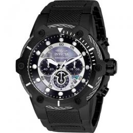 INVICTA 26810 MEN'S BOLT QUARTZ CHRONOGRAPH BLACK DIAL LARGE WATCH
