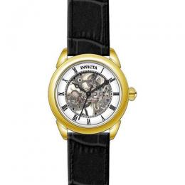 INVICTA 28812 MEN'S SPECIALTY MECHANICAL 3 HAND SILVER DIAL WATCH