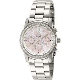 Invicta 11769 Women's Angel Quartz Chronograph Pink Dial Watch