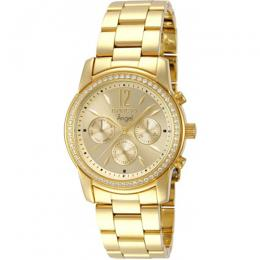 Invicta 11770 Women's Angel Quartz Chronograph Gold Dial Watch