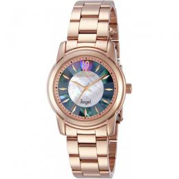 Invicta 12631 Women's Angel Quartz 3 Hand White, Rainbow Dial Watch