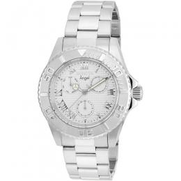 Invicta 17523 Women's Angel Multi-Function Silver Dial Medium Size Watch