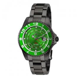 Invicta 18249 Women's Pro Diver Quartz 3 Hand Green Dial Watch