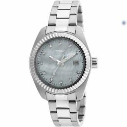 Invicta 20351 Women's Specialty Quartz M.O.P 3 Hand White Dial Small Size Watch