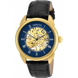 Invicta 23536 Men's Specialty Mechanical 3 Hand Blue Dial Watch