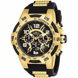 Invicta 24233 Men's Speedway Quartz Multifunction Black Dial XL Watch