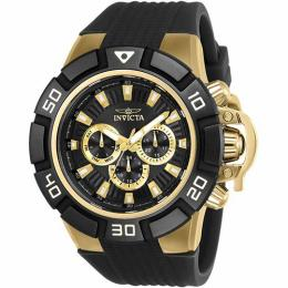 Invicta 24388 Men's I-Force Multi-Function Black Dial Silicone Large size Watch