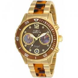 Invicta 24706 Women's Angel Quartz Multifunction Brown Dial Watch