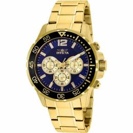 Invicta 25756 Men's Specialty Chronograph Blue Dial Medium Size Watch