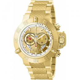 Invicta 5403 Men's Subaqua Quartz Chronograph Gold Dial Watch