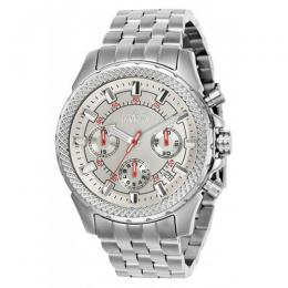 Invicta 7096S Men's Signature Quartz Chronograph Silver Dial Watch