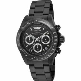 Invicta 7116 Men's Signature Collection Speedway Chronograph Black Medium Watch