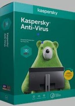 Kaspersky Anti-Virus Africa Edition. 1-Desktop 2 year Base Download Pack - deluxe.com.ng