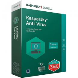 KASPERSKY ANTI-VIRUS 3+1(LATEST VERSION)