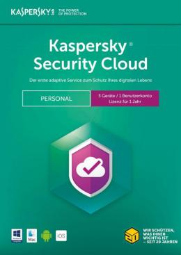 Kaspersky Security Cloud - Personal Africa Edition. 3-Device; 1-Account KPM 1 year Base Download Pack SKU KL1923QDCFS - deluxe.com.ng