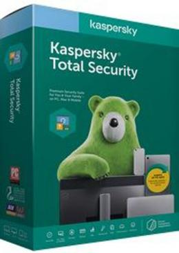 Kaspersky Total Security Africa Edition. 4-Device; 1-Account KPM; 1-Account KSK 2 year Base Download Pack - deluxe.com.ng