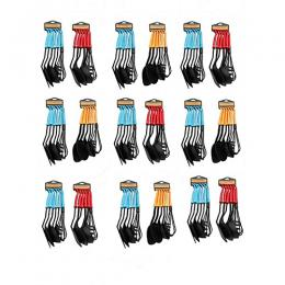Lambano Souvenir (Pack of 18) Set of Non-Stick Spoon - (Blue-Yellow-Red)