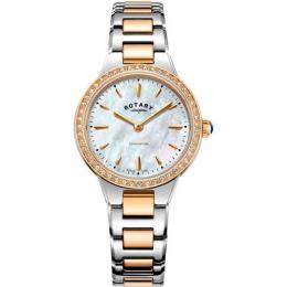ROTARY LB05277/41 WOMEN'S KENSINGTON TWO TONE ROSE GOLD MEDIUM WATCH