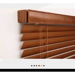 50mm Wooden Window Blinds (Beige) 086 ...1.15m width x 1.4m height