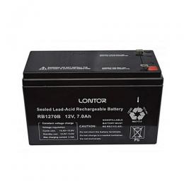 Lontor Battery Replacement For Rechargeable Fans & UPS - 12V 7.0 AH