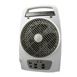 Lontor Rechargeable Multifunctional Box Fan with LED Light - CTL-CF029