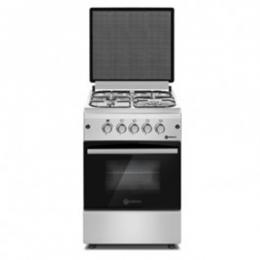 TEC Luxury Cooker (50cm x 60cm) with 4 Gas Burners (Silver) TPC 504G