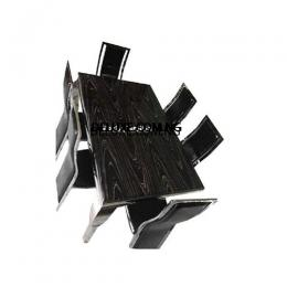 Awesome Marble Dinning With 6 Chairs