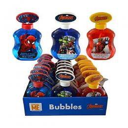 Marvel Dc Comics Heroes 5oz Asst Bubbles