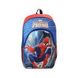 Marvel Spiderman 16Inch Backpack with 1 front Zipper Pocket