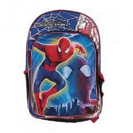 Marvel Spiderman Micro Silk Print 16-inch Backpack - Multicolour