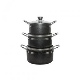 Master Chef 3 Pcs Non-stick Pot