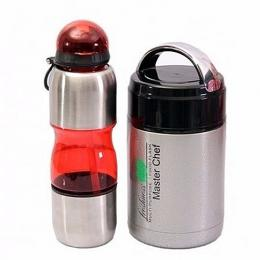 Master Chef Food Flask & Water Bottle For Kids
