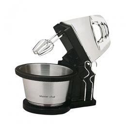 Master Chef Hand Mixer With Rotating Bowl