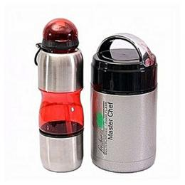 Master Chef Water Bottle & Food Flask For Kids