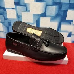 BOSS HIGH STYLED MEN'S CASUAL LOAFER|BLACK (AVAILABLE IN ALL SIZES) 253 HI