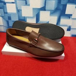 LOUIS VUITTON DESIGNER MEN'S CASUAL PLAIN LOAFERS (AVAILABLE IN ALL SIZES) 244 HI