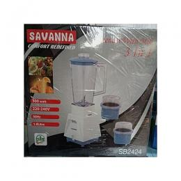 Savanna 3 In 1 Blender With Mill -300Watt