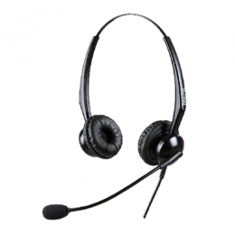 Mairdi MRD-308DS Binaural Call Center Headset - deluxe.com.ng