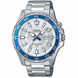 Casio MTD110D-7AV Men's Diver's Style Sports Silver Bracelet Watch
