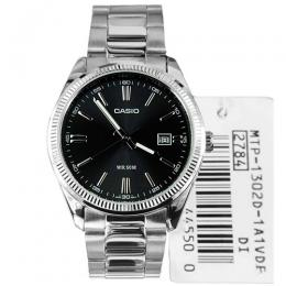 CASIO GENTS MTP-1302D- 1A1VDF METAL BASIC DRESS MEDIUM SIZE WATCH