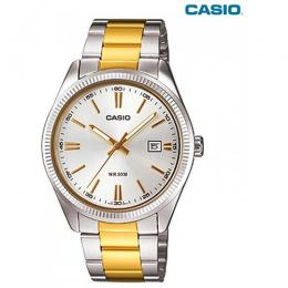 CASIO MTP-1302SG-7AVDF GENTS METAL BASIC MEDIUM SIZE BRACELET WATCH