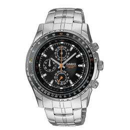 Casio MTP4500D-1AV Men's Slide Rule Bezel Aviator Chronograph Watch
