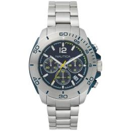NAUTICA NAPADR004 MEN'S 'ANDOVER' STAINLESS STEEL CASUAL WATCH