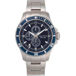 NAUTICA NAPFRB018 MEN'S FREEBOARD STAINLESS-STEEL STRAP WATCH