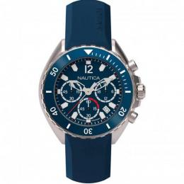 NAUTICA NAPNWP001 MEN'S NEWPORT CHRONOGRAPH SILICONE WATCH